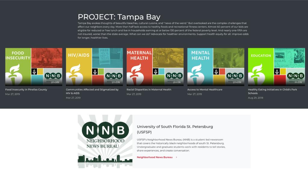 AHA Project: Tampa Bay